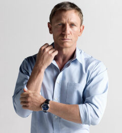 Daniel Craig ambassadeur montres Omega