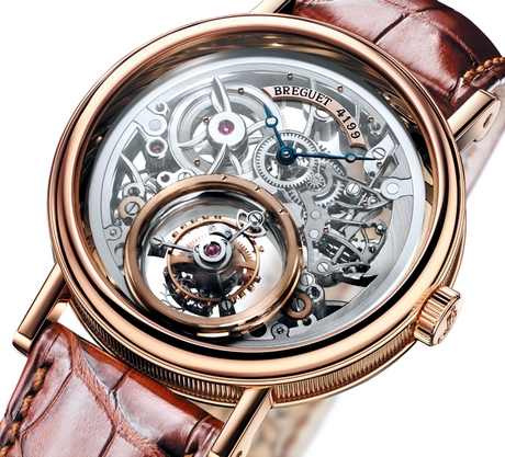 Montre Breguet tourbillon Messidor