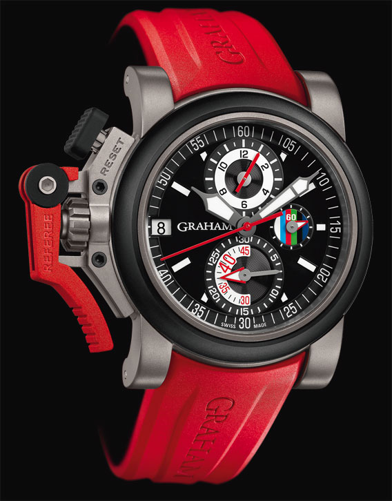 La montre Graham Chronofighter Oversize Referee