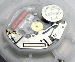 Intérieur d'une montre Swatch