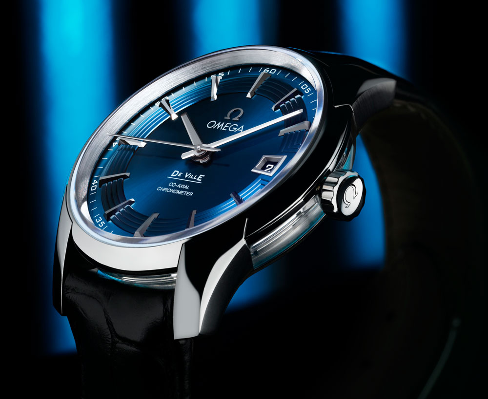 Montre Omega Hour Vision Blue, groupe Swatch