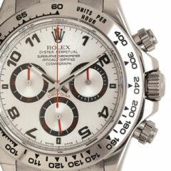 Rolex Daytona or blanc de Nicolas Sarkozy