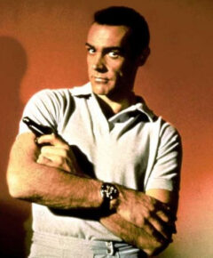Sean Connery James Bond Rolex