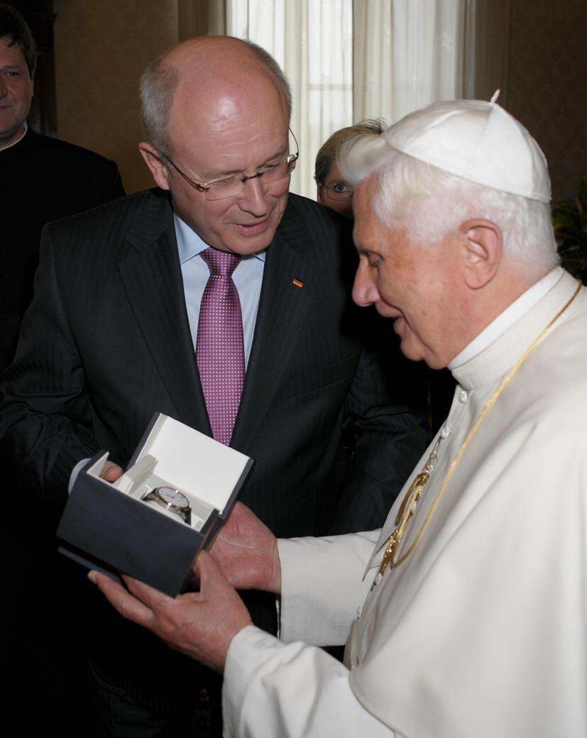 Montre du pape Benoît XVI