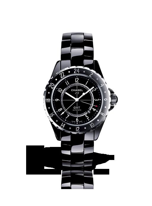 Chanel J12 GMT céramique noire