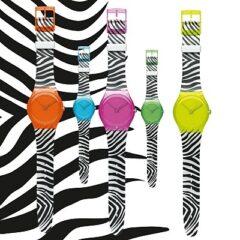 Montres Swatch Zebra