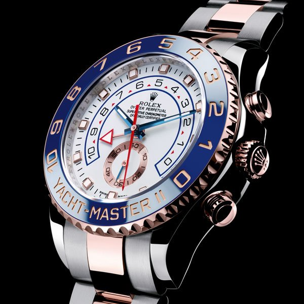 Rolex Oyster Perpetual Yacht-Master II acier et or Everose
