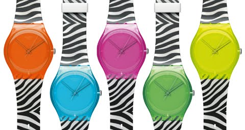 Swatch Zebra Original Gent