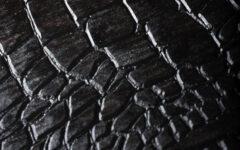 Bracelet montre cuir crocodile