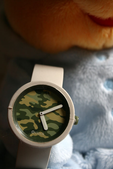 Montre O'clock Camouflage