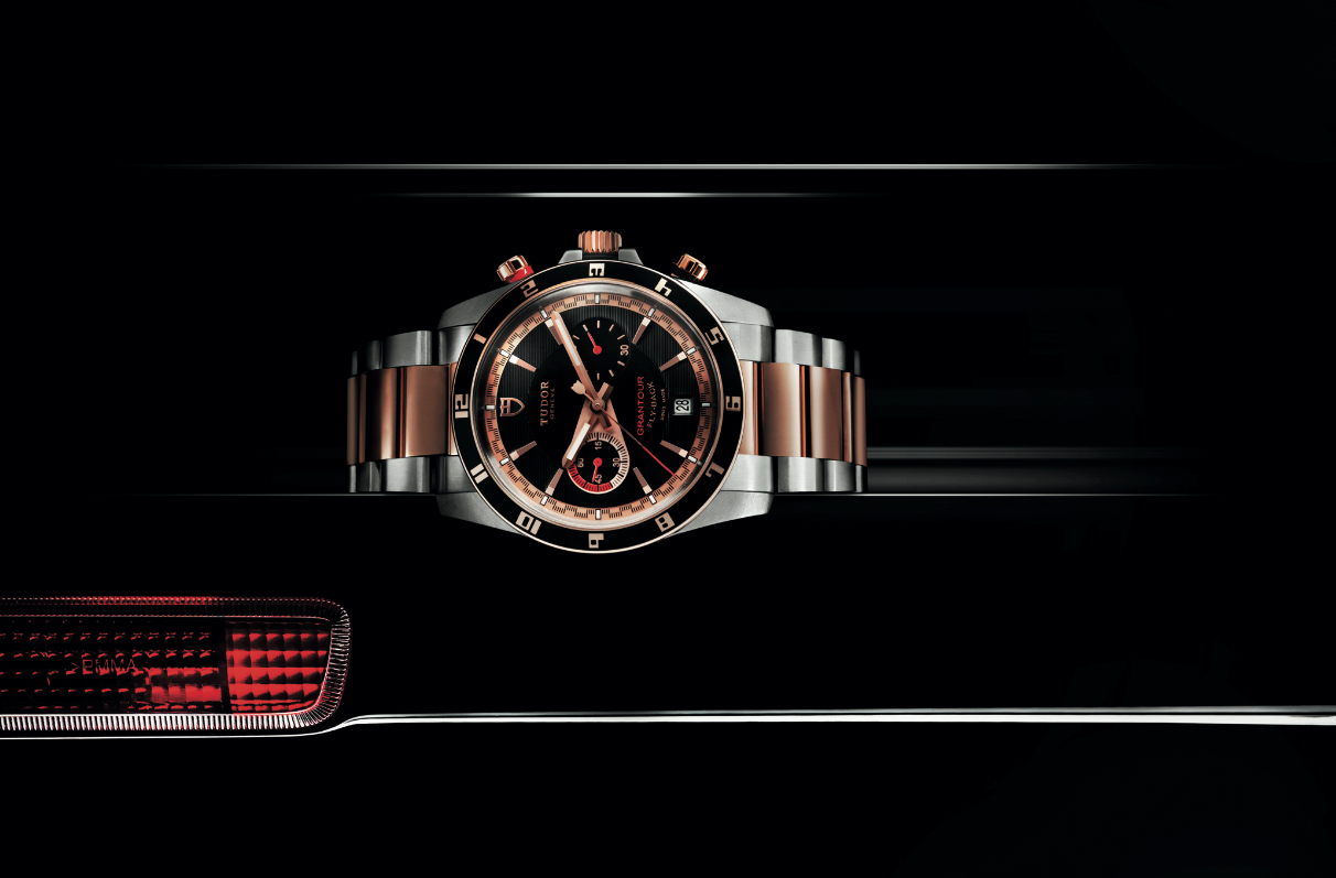 Tudor Grantour Chrono Fly-back or rose