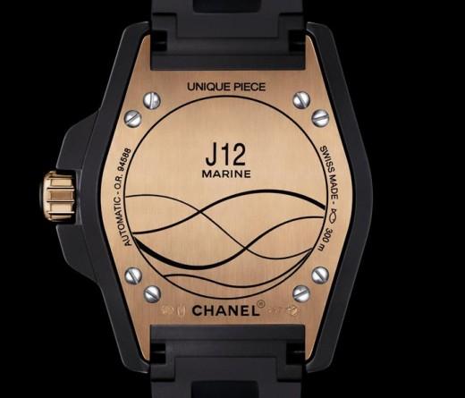 Fond boitier J12 Marine Only watch