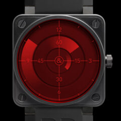 Bell and Ross BR 01 red radar