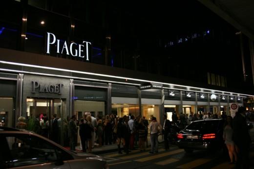 Boutique Piaget Genève rue du Rhône