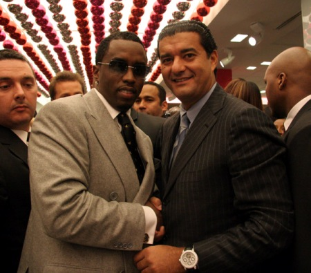 Jacob Arabo et P. Diddy