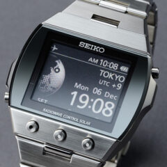 Seiko Active Matrix EPD Watch