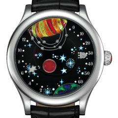 Van Cleef Arpels Complication Poétique « De la Terre à la Lune »