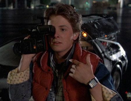 Montre de Marty dans Retour vers le Futur