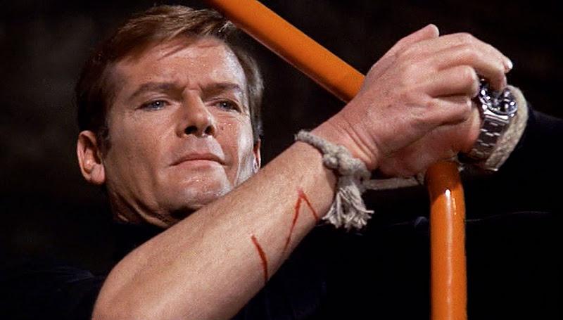 James Bond Roger Moore Rolex