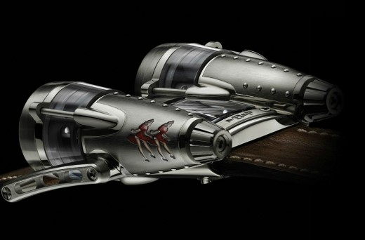 MB&F Horological Machine N°4 Double Trouble