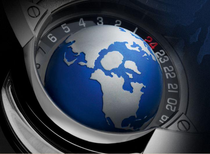 Montre Globe Terrestre Greubel Forsey GMT