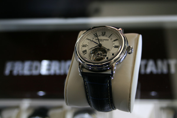 Montre-Frédérique-Constant-Tourbillon-manufacture-fc 980-or-gris