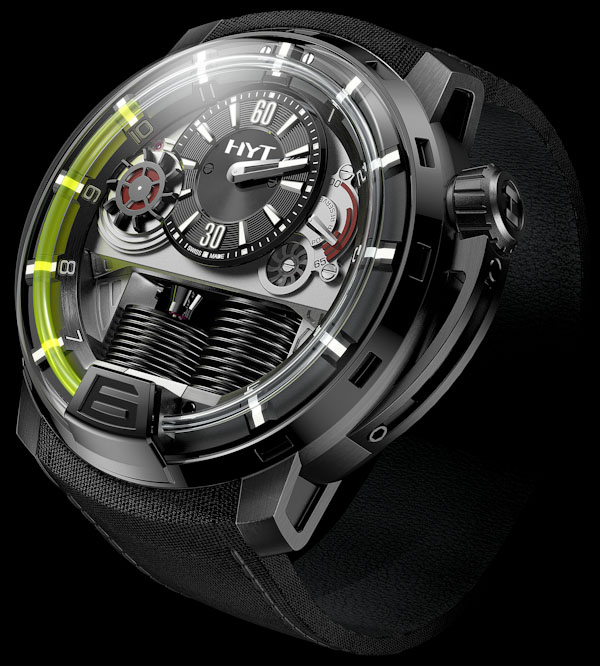 Montre H1 par HYT Vincent Perriard