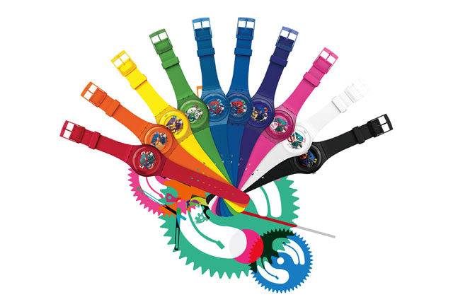 Swatch New Gent Lacquered Collection