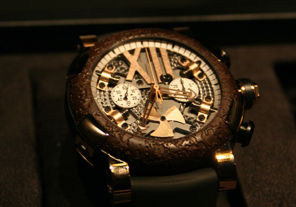 Romain Jerome Steampunk Chrono Baselworld 2012