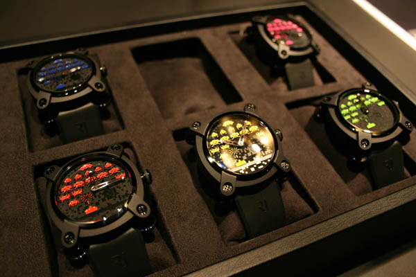 Montre Space Invaders Colours Romain Jerome