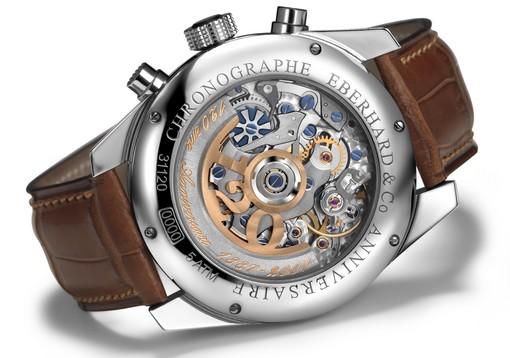 Eberhard Chronographe 120ème anniversaire masse oscillante