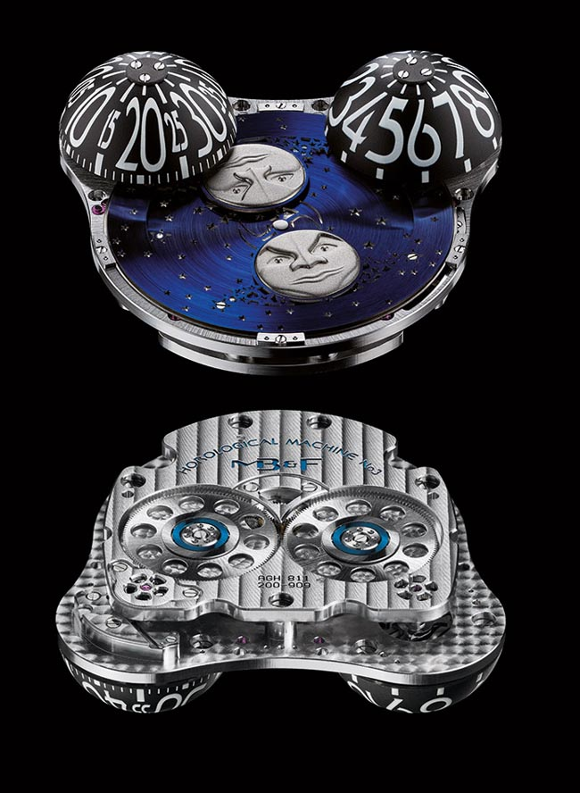 MoonMachine MB&F mouvement