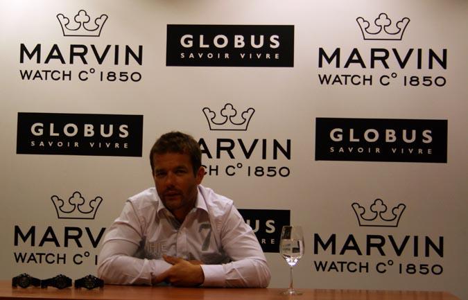 Sébastien Loeb Marvin montre