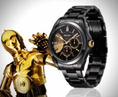 Montre Seiko Star Wars C3PO