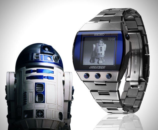 montre star wars r2 d2 montres passion. Black Bedroom Furniture Sets. Home Design Ideas
