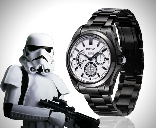 montre star wars storm trooper montres passion. Black Bedroom Furniture Sets. Home Design Ideas
