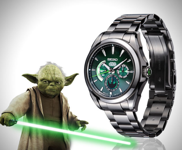 montre star wars yoda montres passion. Black Bedroom Furniture Sets. Home Design Ideas