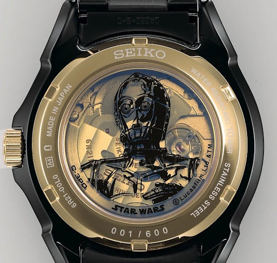 Seiko Star Wars C3PO