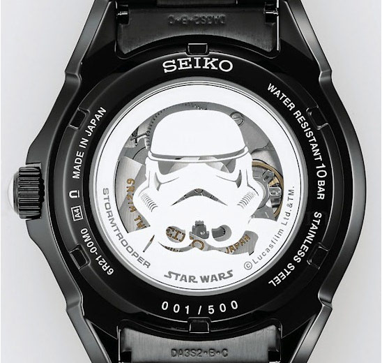 Seiko Star Wars Storm Trooper