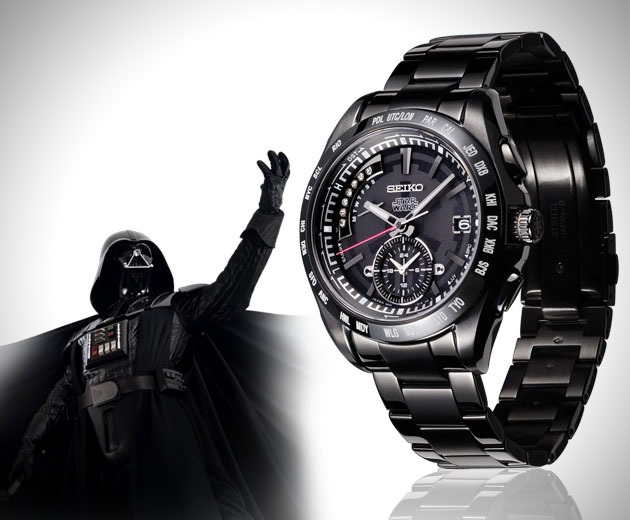 montres star wars par seiko montres passion. Black Bedroom Furniture Sets. Home Design Ideas