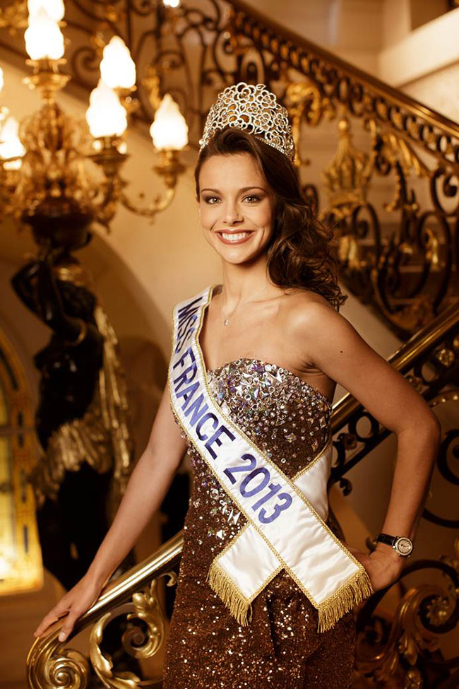 Montre diamant Miss France