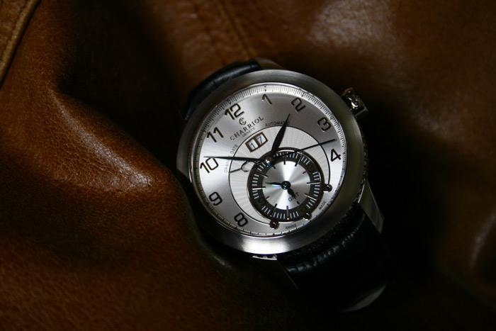 Charriol-Colvmbvs-Grande-Date-GMT-montre-automatique