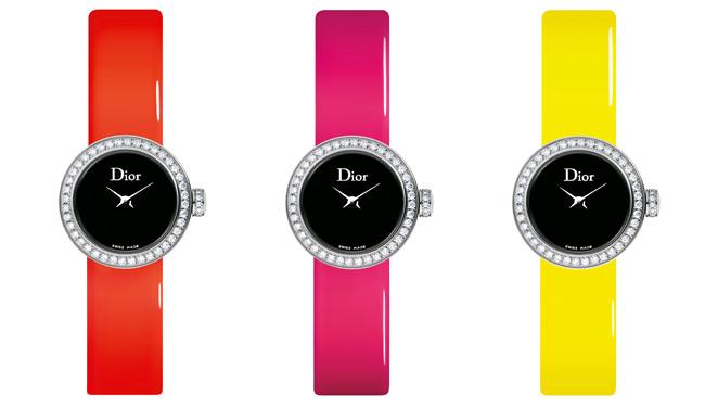 Mini D Dior Fluo montre