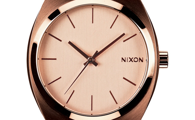 Nixon-Time-Teller-or-rose-gold