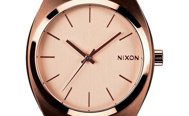 Nixon-Time-Teller-or-rose-gold