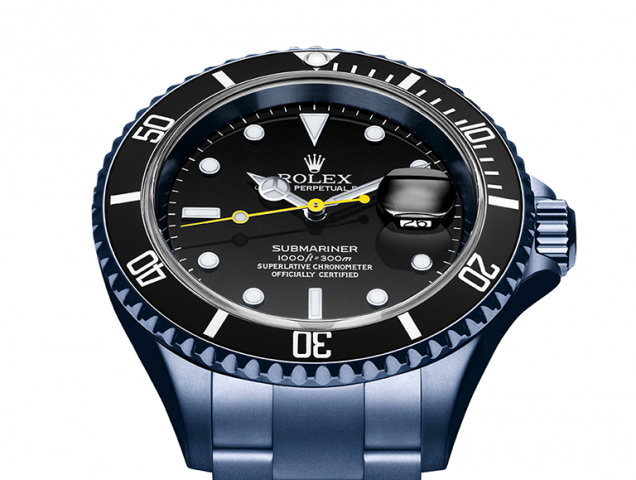 Rolex-Submariner-Date-customisée