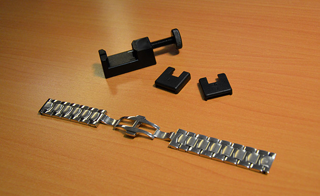 Ajuster-bracelet-montre-acier