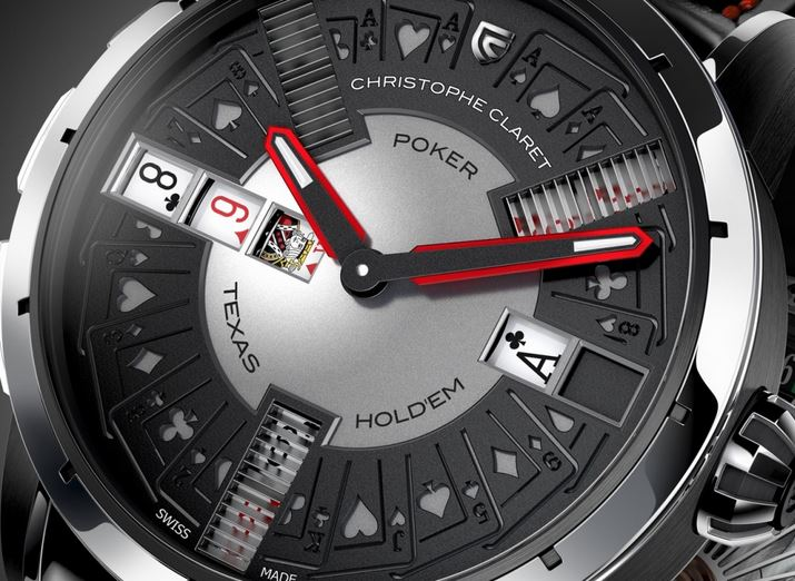 Montre Poker par Christophe Claret
