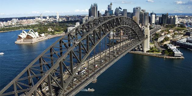 Pont-Harbour-Sydney