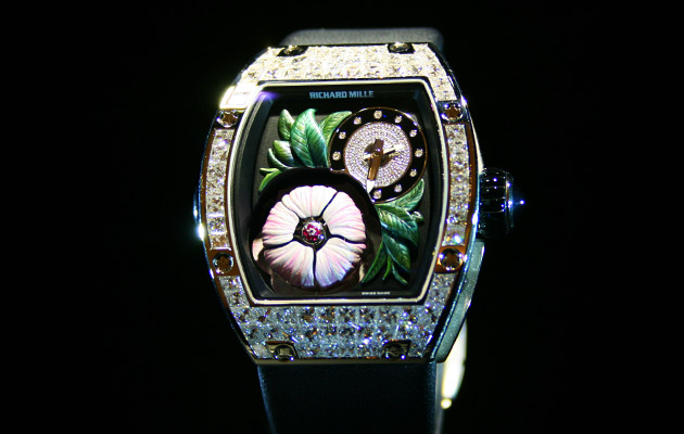 richard mille 19 02 tourbillon fleur montres passion. Black Bedroom Furniture Sets. Home Design Ideas
